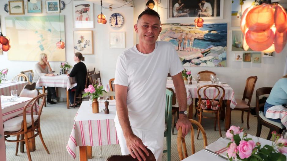 Sean Moran at Sean's Panaroma, a Bondi icon since 1993.