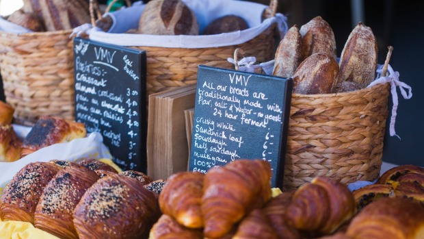 Exceptional croissants and sourdough are available at the market in Aitutaki on Saturdays.