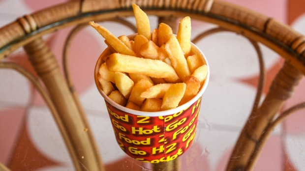 Look for chips fried in beef fat for maximum flavour.