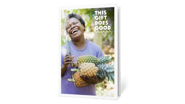 Oxfam Unwrapped Good Food Gift Guide December 2019