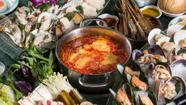 Chengdu's cult JiYu Hot Pot chain, which specialises in seafood, is coming in hot (pot).