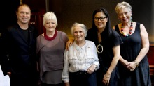Some of Australia's most influential cooks: Neil Perry, Stephanie Alexander, Margaret Fulton, Kylie Kwong and Maggie ...