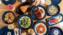 Gazi dishes and drinks on offer during the 2020 Australian Open.