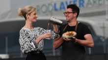 Bar Margaux's Zara Madrusan and Lomah chefCharlie Carrington are on board for the Australian Open 2020.