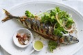 Karen Martini's masala marinated mackerel.