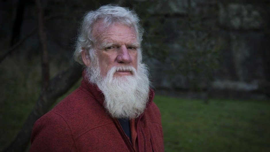 Writer and farmer Bruce Pascoe has harvested and baked with an indigenous grain for the first time in about 200 years.
