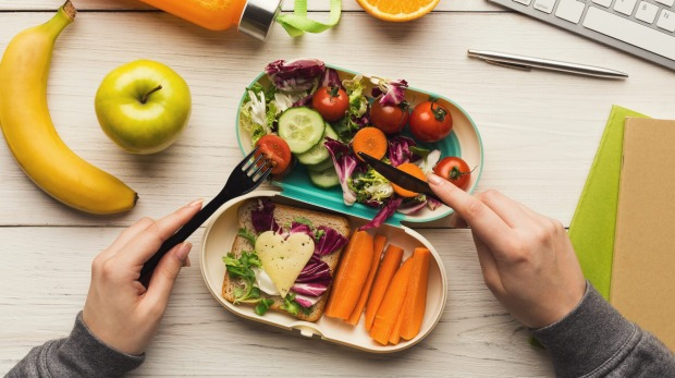 Adding cheese to your salad will keep hunger pangs away.
