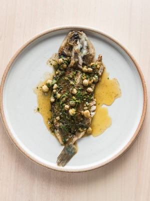 There's no red meat, but sticky-skinned whiting with rotating dressings fills the gap.