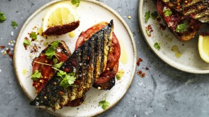 Dinner-worthy fish on toast.