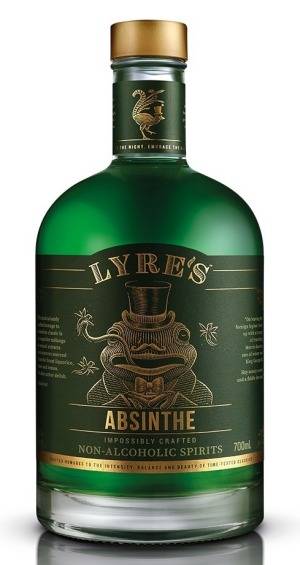 Lyre's has released an alcohol-free version of absinthe ($45).
