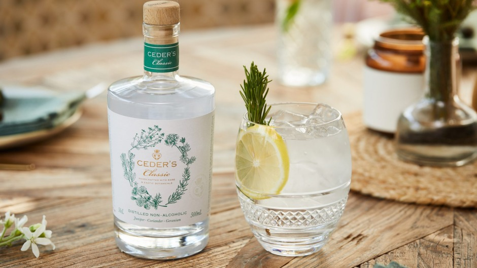 Ceder's, a South African non-alcoholic alternative to gin.