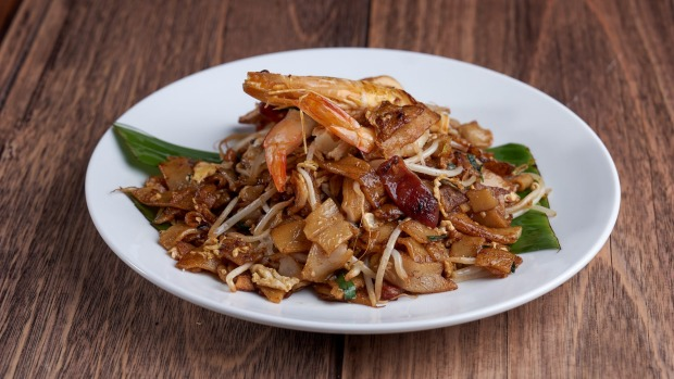 Char kway teow is one of many comfort classics.