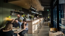 Faye brings big personality to a blank canvas in Brunswick East.