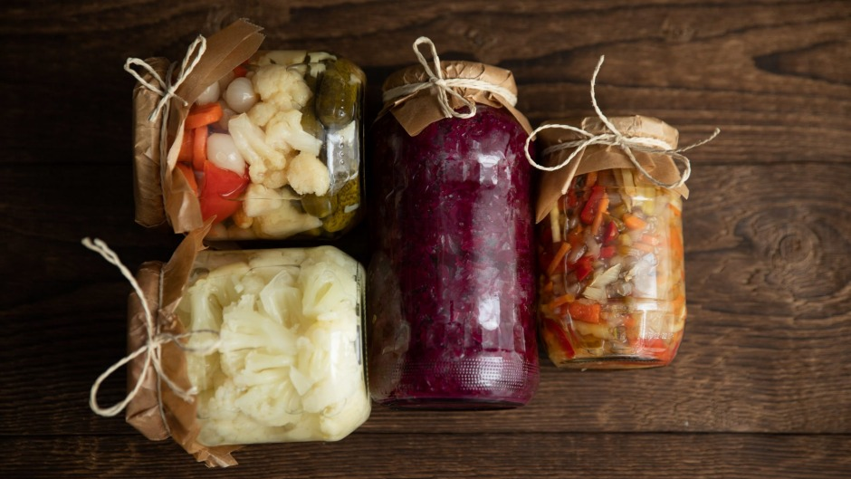 Living food: Pickles and ferments are now surging in popularity.