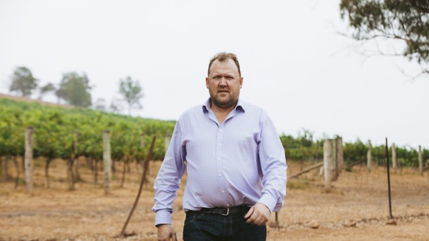 NSW Wine Industry Association executive officer Angus Barnes estimates an up to 30 per cent drop in an already ...