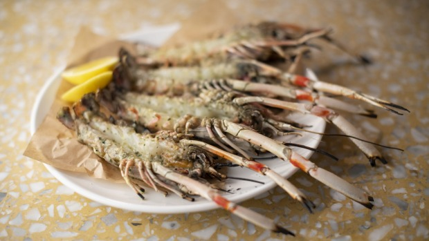 Scampi, garlic and seaweed butter is worth shelling out for.