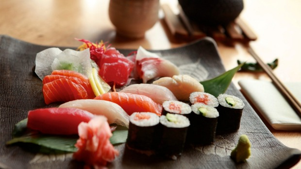 Sushi and sashimi will make way for skewers.