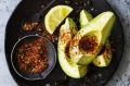 Avocado with DIY shichimi seasoning.