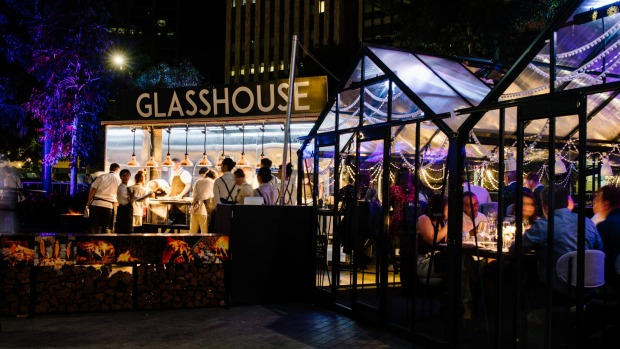 The Glasshouse Kitchen stars on this year's program.