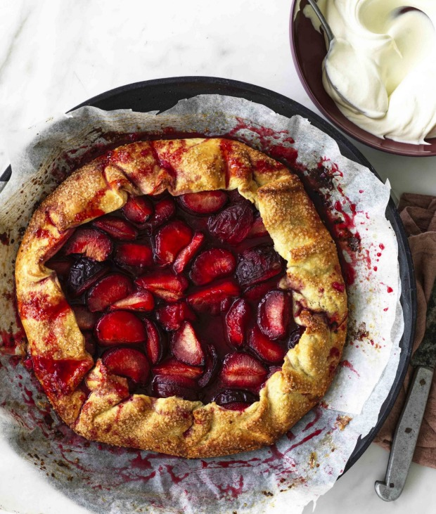 This crostata recipe works with various fruity fillings.