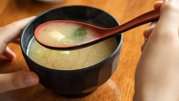 Fresh unpasteurised miso makes for a more delicious broth.