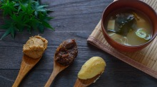 Miso marries soy and grain in a fermented paste that is both delicious and nutritious.