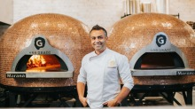 Melbourne chef Johnny Di Francesco developed his award-winning pizza recipe after a working trip to Naples.