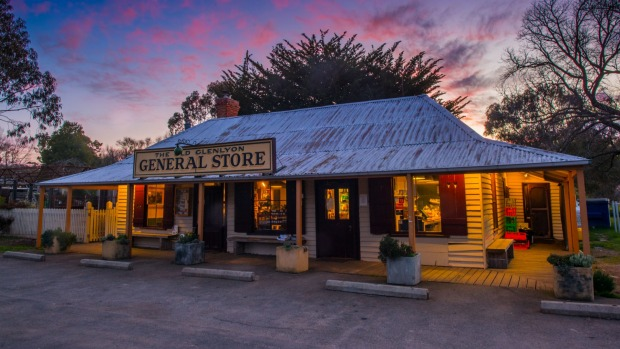 Glenlyon General Store. Copyright Richard Cornish 2019. All Rights Reserved. Credit Richard Cornish Glenlyon General Store in Daylesford.