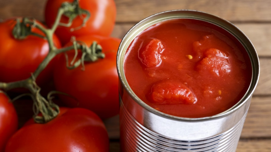It's best to start with whole peeled tomatoes, with no other flavourings except salt.