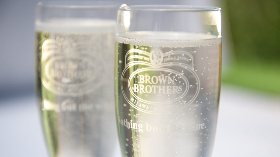 Here's cheers: Victoria's King Valley is famous for its prosecco.