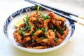 Ho Jiak's spin on salt and pepper squid.