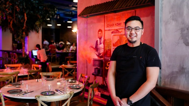Good Food. Short Black. Ho Jiak Town Hall restaurant in CBD.  Owner/chef Junda Khoo. 13th March 2020. Photo: Edwina Pickles.