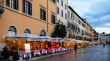 Restaurants in Rome and other European cities are feeling the brunt of the crisis but some are using it as a chance for ...