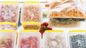 Use rectangular containers and freezer bags to help maximise freezer space.