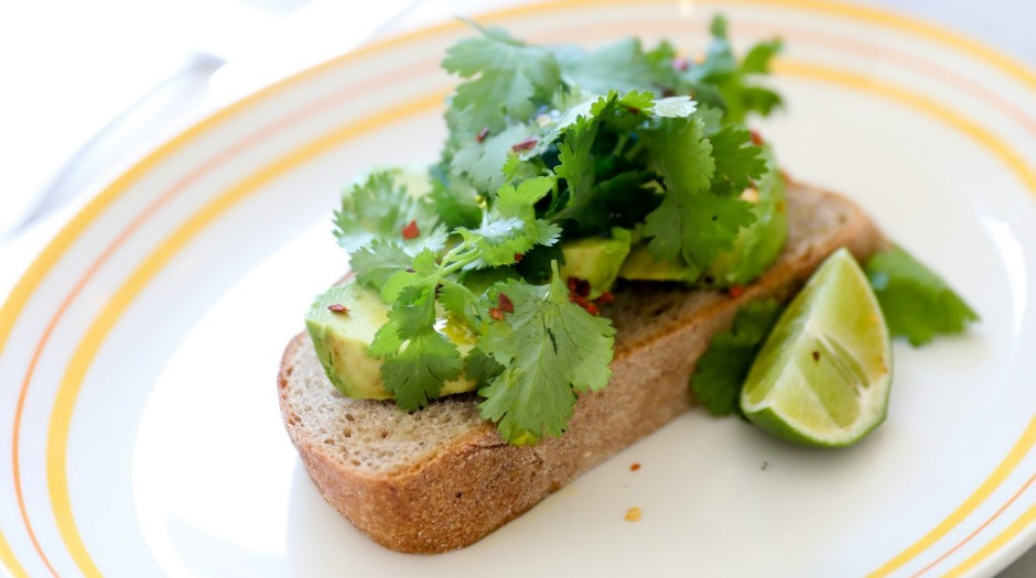 All about the hexanal: the signature avocado toast at Bill's in Darlinghurst, Sydney.