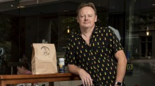 Stuart Knox, owner of Fix Wines, is selling discounted Corona beer and take-away food in response to coronavirus.