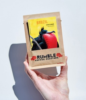 Melbourne-based Rumble Coffee Roasters deliver artisan bean subscriptions across Australia.