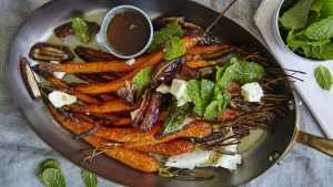 A roasted carrot salad for any season.