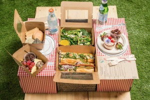 The Pop-Up Picnic by One Hundred Hospitality has become popular with people isolating at home during the coronavirus ...