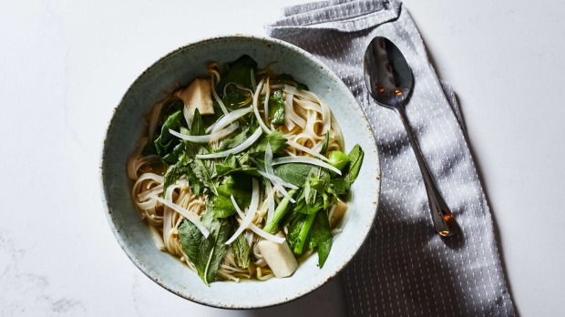 Atlas Dining's cook-along-at-home mushroom pho.