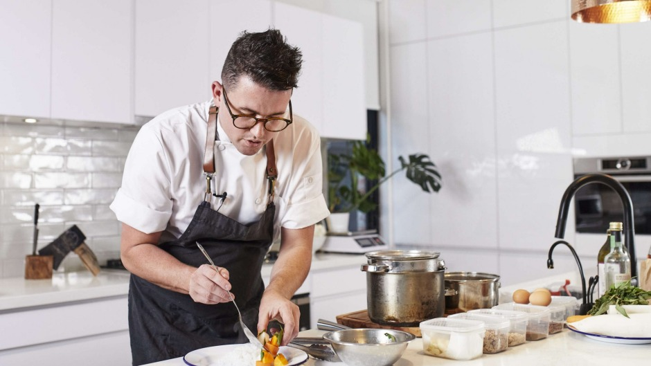 Chef Charlie Carrington releases videos showing how to cook each recipe in real time.