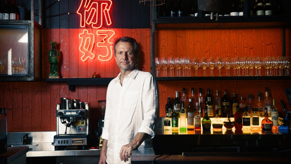 China Diner's co-owner, Kingsley Smith, at his Bondi venue.