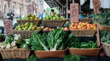 Mixed vegie boxes can be pre-ordered for fast pick-up at the markets.