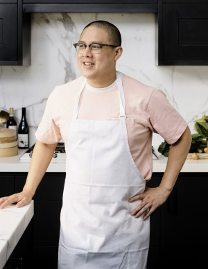 Dan Hong is among the stable of chefs behind Merivale at Home.