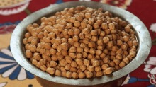 Dried chickpeas require soaking.