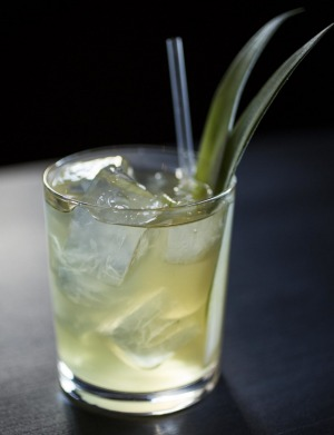 PS40's Jean Claude Pandan cocktail is available for home delivery via Hospo Threads.