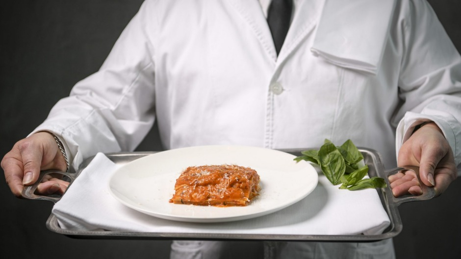 Di Stasio Citta's lasagne Pasquale is a signature by which others are measured.