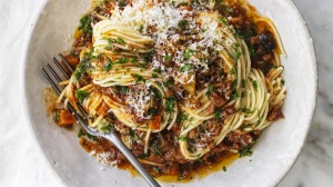 Most bolognese sauces would benefit from more cooking time, especially at the beginning.