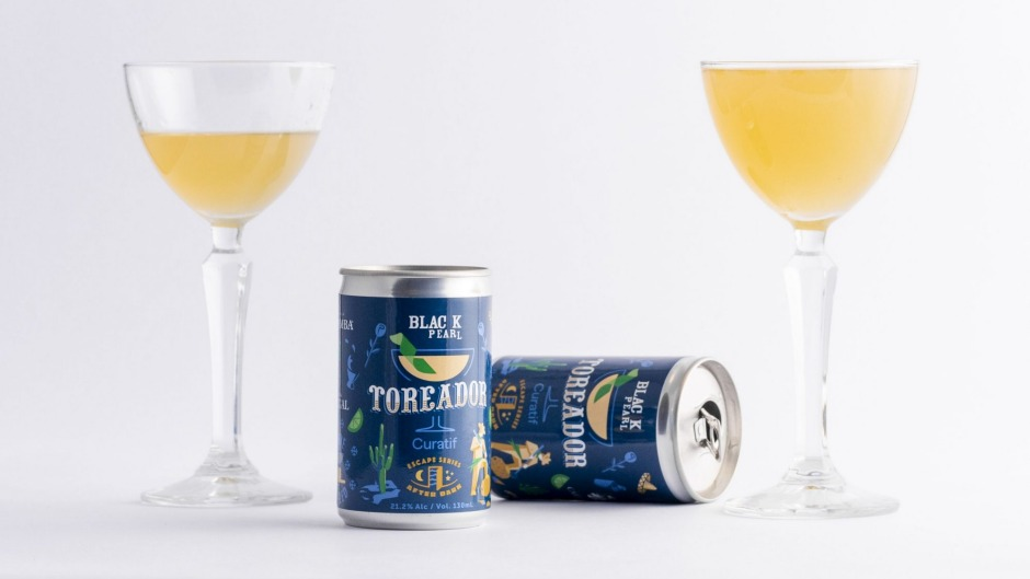 Black Pearl and Curatif have collaborated on a Toreador cocktail in a can.