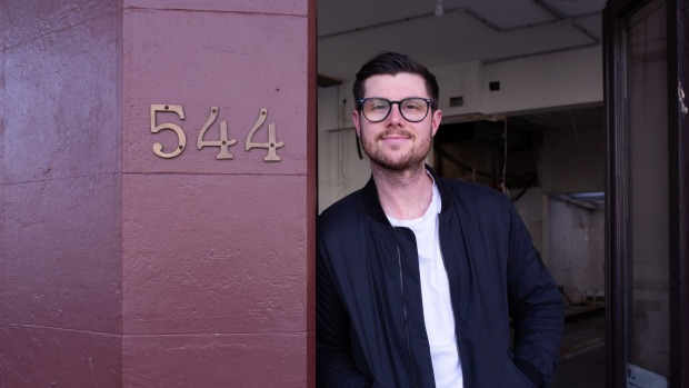 Tristan Rosier of Arthur's restaurant in Surry Hills is asking customers to commit to a minimum spend.